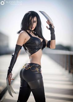 X-23 by Crystal Emiliani @ instagram.com/crystalmetalsinger - More at https://pinterest.com/supergirlsart    #crystalemiliani #hot #sexy #cosplay #girl #cosplaygirl #x23 #marvel