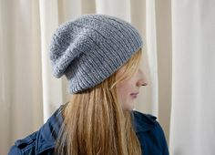 Cabled Dad Hat by Alexis Winslow: Win a deluxe Karbonz Interchangeable set & great knitting patterns on the Knit Darling blog!