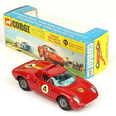 Corgi Toys 314 Ferrari Berlinetta in rare window box