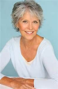 Short Hairstyles for Women Over 50 with Gray Hair - Bing images