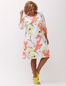 Lane Bryant dress Will be available as of May Size Polyester. Buttoned keyhole back Lane Bryant Dresses Midi Trendy Plus Size Clothing, Plus Size Fashion, Lane Bryant, Plus Size Dresses, Plus Size Outfits, Clothes For Sale, Clothes For Women, Nice Clothes, Affordable Clothes