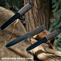 Throwing Knives | ESknives.com has a huge selection to choose from | One of the best hobbies you can start | Great arm workout that will also increase your coordination. | Fun!