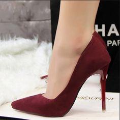 Женские туфли Лодочки на высоком каблуке с острым носком Ссылка: http://ali.pub/9ialy