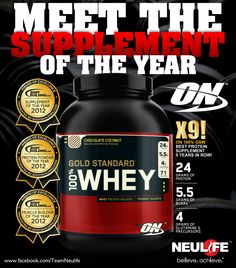 On Whey Gold Standard Supplements For Muscle Growth, Protein Supplements, Best Supplements, Whey Protein Recipes, High Protein Smoothies, Protein Foods, Casein Protein Powder, Gold Standard Whey Protein, Body Supplement