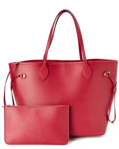 Louis Vuitton Fuchsia Epi Leather Neverfull MM is on Rue. Shop it now.