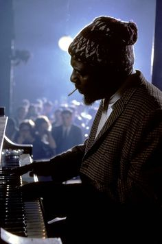 Thelonious Monk. First he learned to play with precision, then he added discordance to make it sound better. Kinda like taking a Benini sculpture and knocking a few chips off it to make it look better. It worked. Go figure...