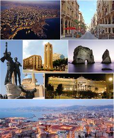 Beirut, بيروت, Bayrūt, Beyrouth (French)