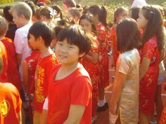Celebrating Chinese New Year in Primary boarding - February 2016