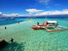 Mactan Island Hopping in Cebu - Activity in Cebu, Philippines - Justgola Cebu, Mactan Island, Subic Bay, Philippine Holidays, Day Tours, Southeast Asia, Shark, Beautiful Places, Boat