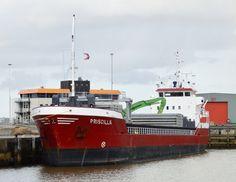 2 maart 2015 aan de Wijnne Barends terminal Handelshaven,  arriveerde vanuit Stettin (Polen)  http://koopvaardij.blogspot.nl/2015/03/delfzijl-vandaag.html