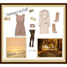 """""""Summer to Fall"""" by laurydz on Polyvore"""