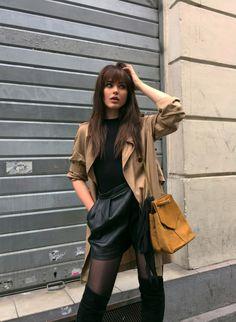Miranda . Kristina . Jessica New Fashion, Fashion Beauty, Autumn Fashion, Fashion Outfits, Black Hair Inspiration, Style Inspiration, Divas, Kristina Bazan, Dating Women