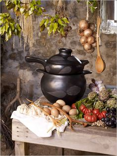 In a witch's kitchen. I could really use something like this