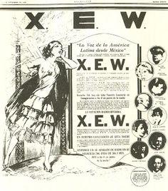 Programación XEW en excélsior