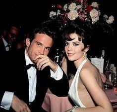 Warren Beatty & Natalie Wood dating in 1962.