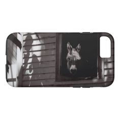 Portrait of Molly the burro Phone Case - portrait gifts cyo diy personalize custom