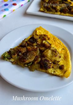 Mushroom Omelette Recipe for Toddlers and Kids Mushroom Recipes Indian, Indian Baby Food Recipes, Healthy Egg Recipes, Toddler Meals, Kids Meals, Toddler Food, Eggs And Mushrooms, Stuffed Mushrooms, Mushroom Omelette