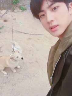 Jin twitter update