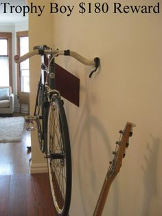 Trophy Bicycle Holders By Outline Works Bicycles Pinterest