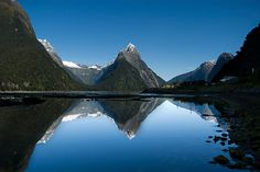Kelly Anthony Photography www.kellyanthony.com Mitre Peak, Milford Sound, New Zealand by Anthony and Kelly Rae Prints for sale on Redbubble
