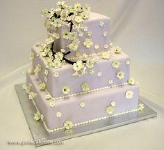 Blossom Wedding Cake by Pink Cake Box