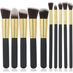 G #BrushSets Brush Sets, Eyeliner, Foundation, Cosmetics, Makeup, Beauty, Black, Make Up, Black People