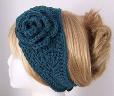 Cute ear warmer - great for camping!