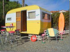 vintage trailer/camper