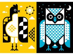Birddds by Mikey Burton
