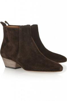 Isabel Marant boots wooden heel