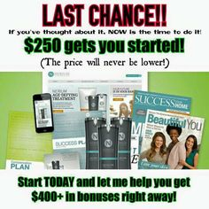 Ready to start on your next new venture into entrepreneurship backed by incredible and successful leaders and state of the art tools?  bennettdt.nerium.com