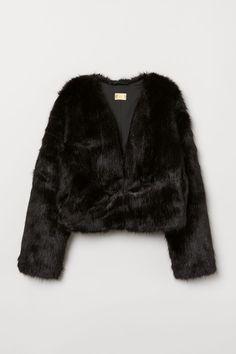 Enthusiastic Womens Dress Fox Fur Collar Imitation Fur Coat Short-style Self-fitting And Cotton Mink Fur-trimmed Fur Suit Basic Jackets
