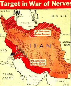 'The Soviet Union and Iran had reached an agreement that gave the Soviets an oil concession in Iran. With this promise in hand, the Soviets...moved their troops out of Iran in April 1946. Almost immediately, the Iranian government reneged on the oil deal...The Soviets were furious, but refrained from reintroducing their armed forces into Iran for fear of creating an escalating conflict with the US and Great Britain. The Iranian crisis...helped set the tone for the developing Cold War.'