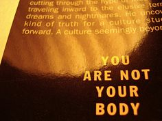 You Are Not Your Body - Douglas Coupland - Life After God Douglas Coupland, Dreams And Nightmares, God, Life, Image, Dios, The Lord