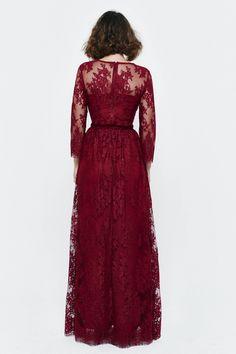 Falda de fiesta. Modelo SWING Granate - Etxart&Panno - Tienda Online Oficial