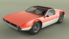 1968 Detomaso Mangusta Spider Concept