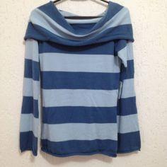 Blusa Energie Malha Azul Listada - 764242 | enjoei :p