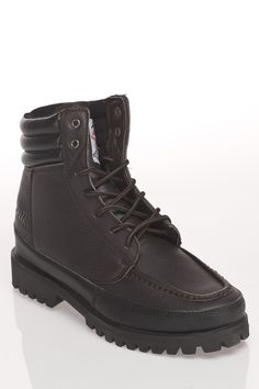 Messenger Boots in brown by Gorilla $125 - $40 @Beyond the Rack. Lace-up closure. Padded at ankle Lightly padded tongue. Padded insole. Gripped sole. Leather Upper, Rubber Sole.