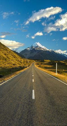 Mount Cook, Highway 80, Mackenzie Country, New Zealand
