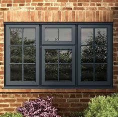 New windows with double glazing will make your home warm, quiet and extra secure. Everest is number one for truly exceptional double glazed windows. Front Window Design, Wooden Window Design, Window Grill Design Modern, House Window Design, Door Gate Design, Cottage Windows, House Windows, Modern Windows, Metal Windows