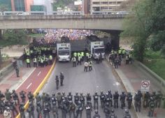 As AgainstCronyCapitalism reports, the pic above is of hungry Venezuelans protesting that they do not have enough water or electricity, and that their children are dying from lack of food and medicine — in a country with more oil than Saudi Arabia, after years of two-cent gasoline and free housing socialism. The government has stolen all the money and now threatens peaceful protesters with bombs, or hauls them to prison and tortures them.