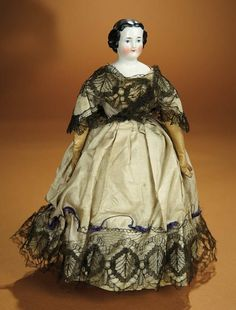 """Bread and Roses - Auction - July 26, 2016: 238 Early American Mechanical Patented """"Autoperi-patetikous"""" Walking Doll"""
