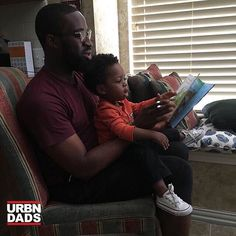 #Repost @jeffo3  Shoutout to my Brother @gregnoire and his son Ari who is being #raisedbyanalphaman #blackdads #blackfathers #urbndads #blackfatherhood