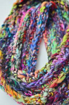 #Handspun Yarn Knit and Crochet Projects and #pattern ideas - 222 Handspun