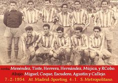 Foto Atletico de Madrid 1953/54