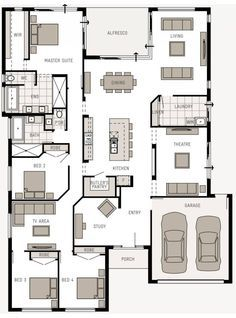 The Retreat Vogue Q1 Display Home by Plantation Homes - newhousing.com.au