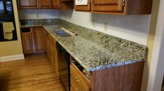 St. Cecilia granite kitchen countertop install for the Yan family. Knoxville's Stone Interiors. Showroom located at 3900 Middlebrook Pike, Knoxville, TN. www.knoxstoneinteriors.com. Estimates available, call 865-971-5800.
