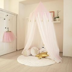 canopy with play mat canopy baldachin princess decor bed