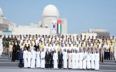 His Highness Sheikh Mohamed bin Zayed Al Nahyan, Crown Prince of Abu Dhabi and Deputy Supreme Commander of the UAE Armed Forces, and President Moon Jae-in of South Korea visited the Barakah Nuclear Energy Plant in Al Dhafra Region to celebrate the successful completion of Unit 1...