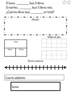 Differentiated bilingual word problems by Profe Emily. Type in your students' names!